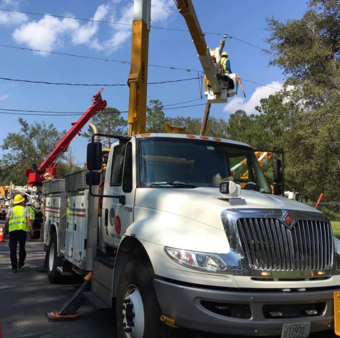 WPS crews helping in Florida