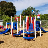 Boy Scout raises $40K for Harbor House playground