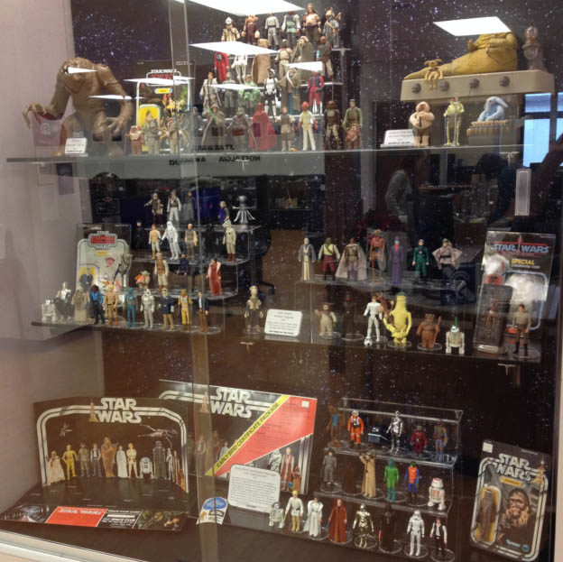 """Star Wars"" toys on display in Little Chute"