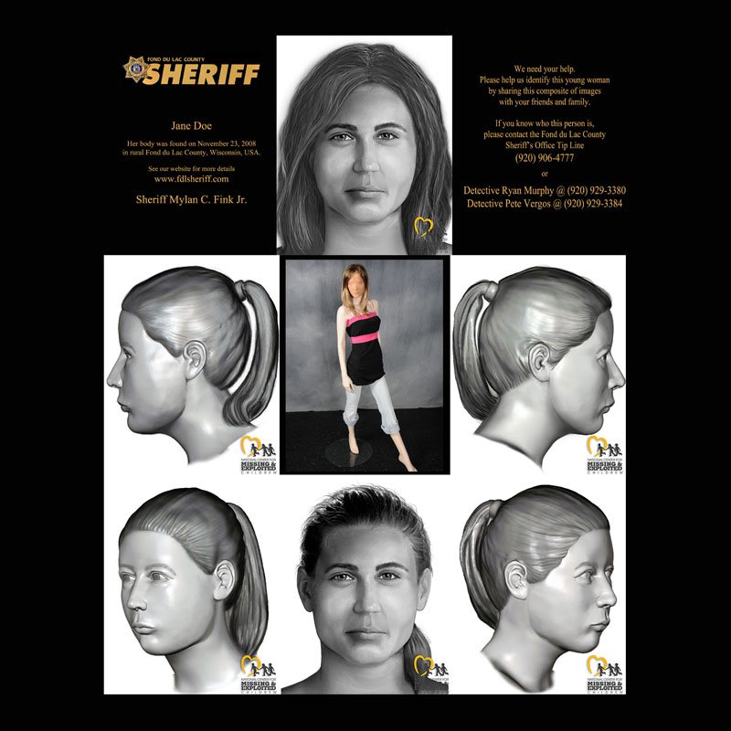 Remains exhumed in Jane Doe case