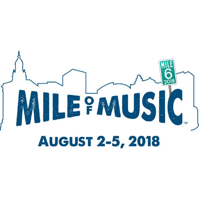 -- List of the First 50 artists for Mile of Music