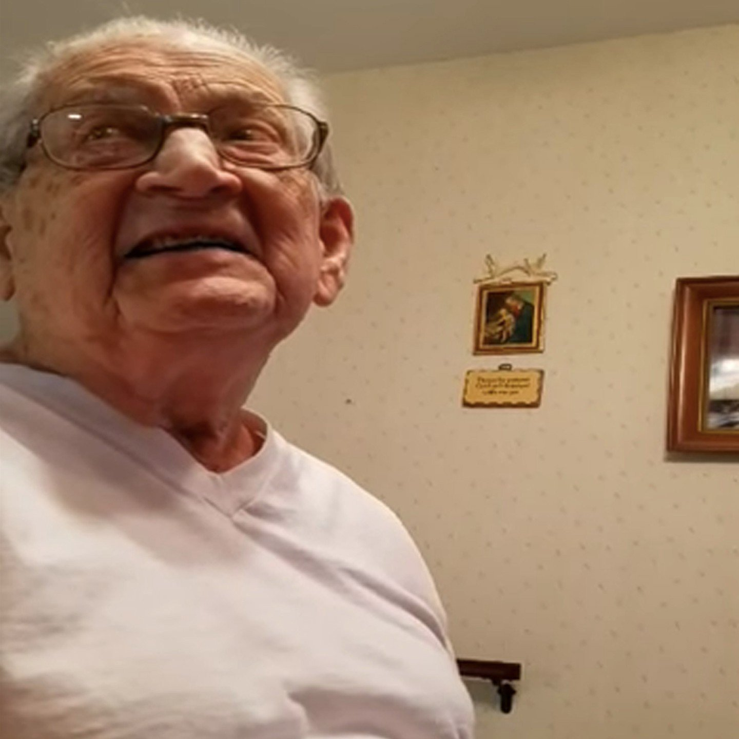 98 Year Old Man Finds Out How Old He Actually Is!