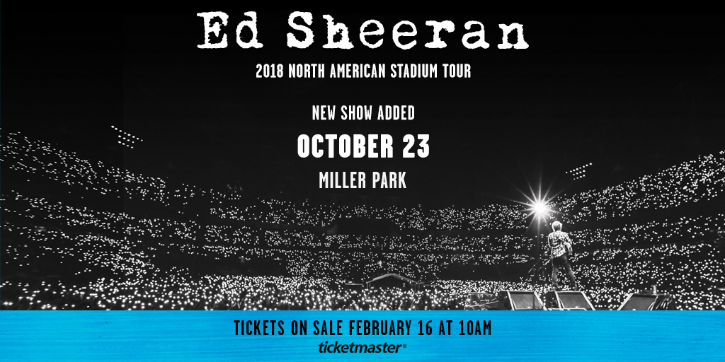 Beat the Box Office and win Ed Sheeran tickets!