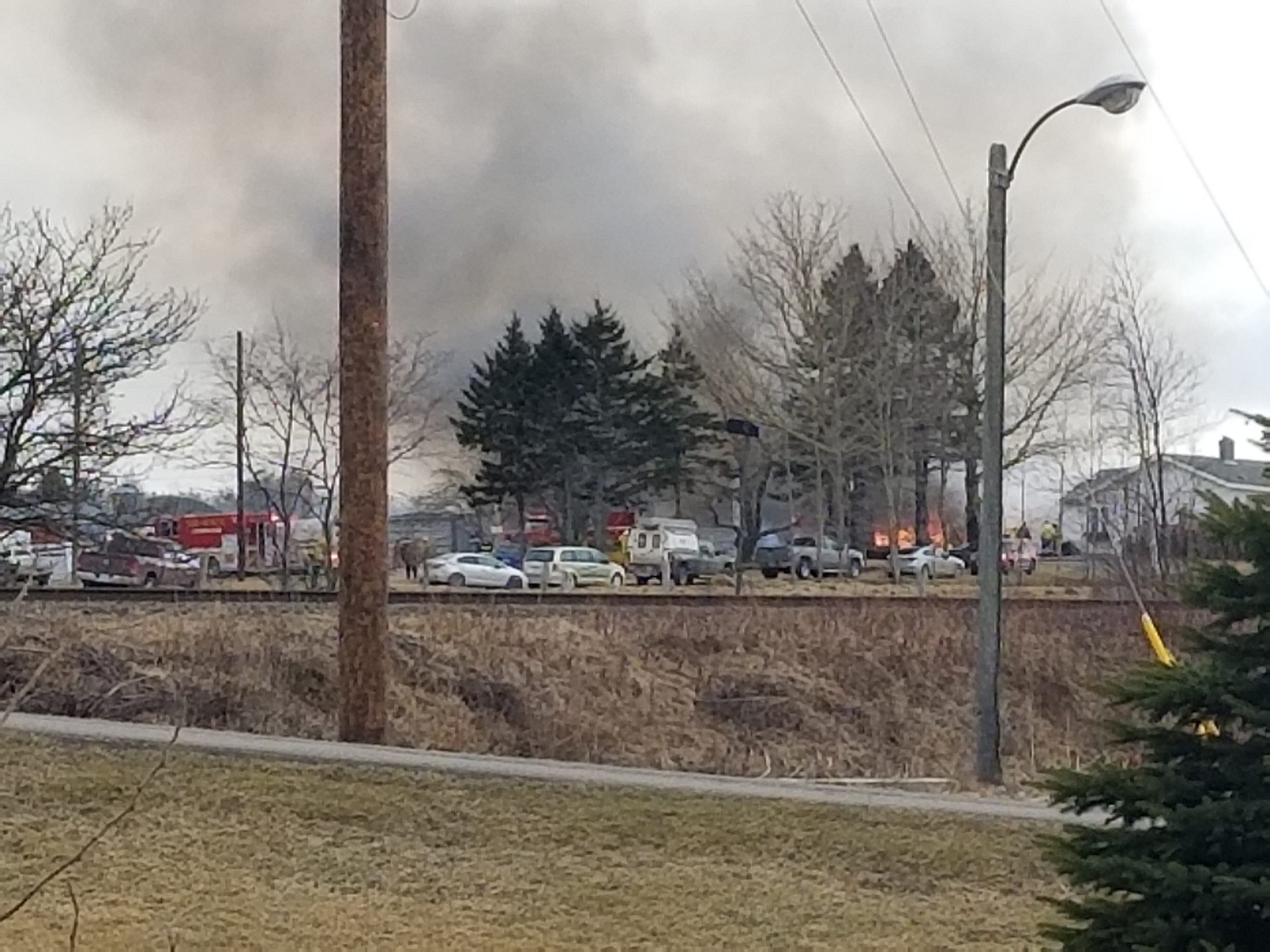 Firefighters on scene of structure fire in Antigonish Co.