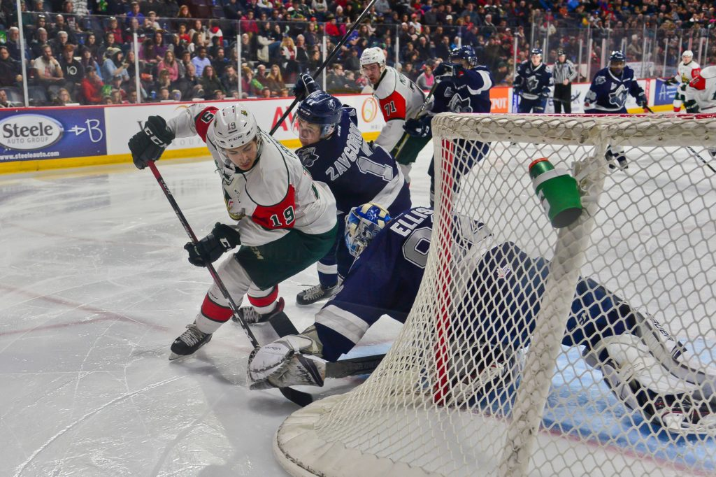 Quebec Major Junior Hockey League results (from Halifax Monday)