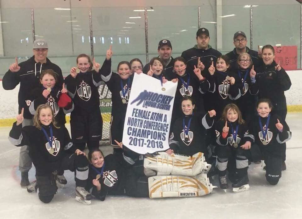 Atom A female hockey playoff results (from Port Hood Sunday)