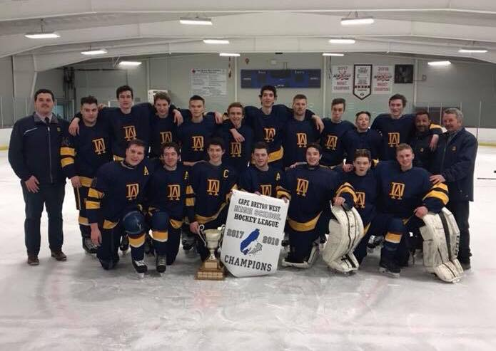 Cape Breton West High School Hockey League playoff results (from Port Hood Tuesday)