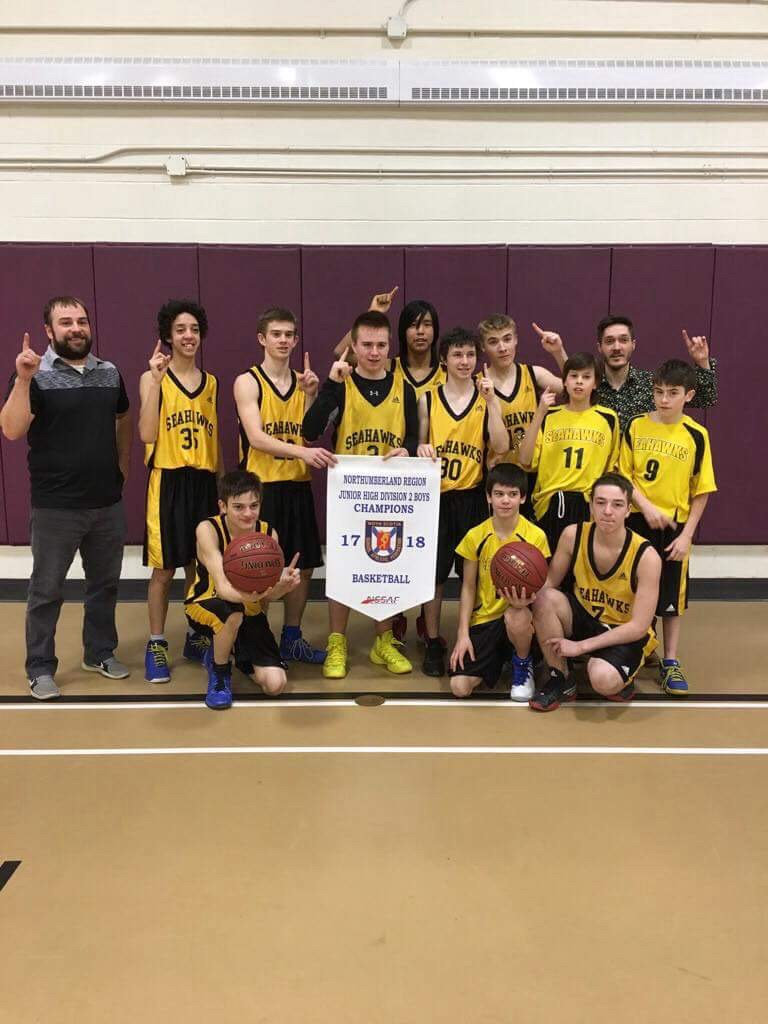 Northumberland Region Division 2 junior boys basketball playoff results (from Tuesday)