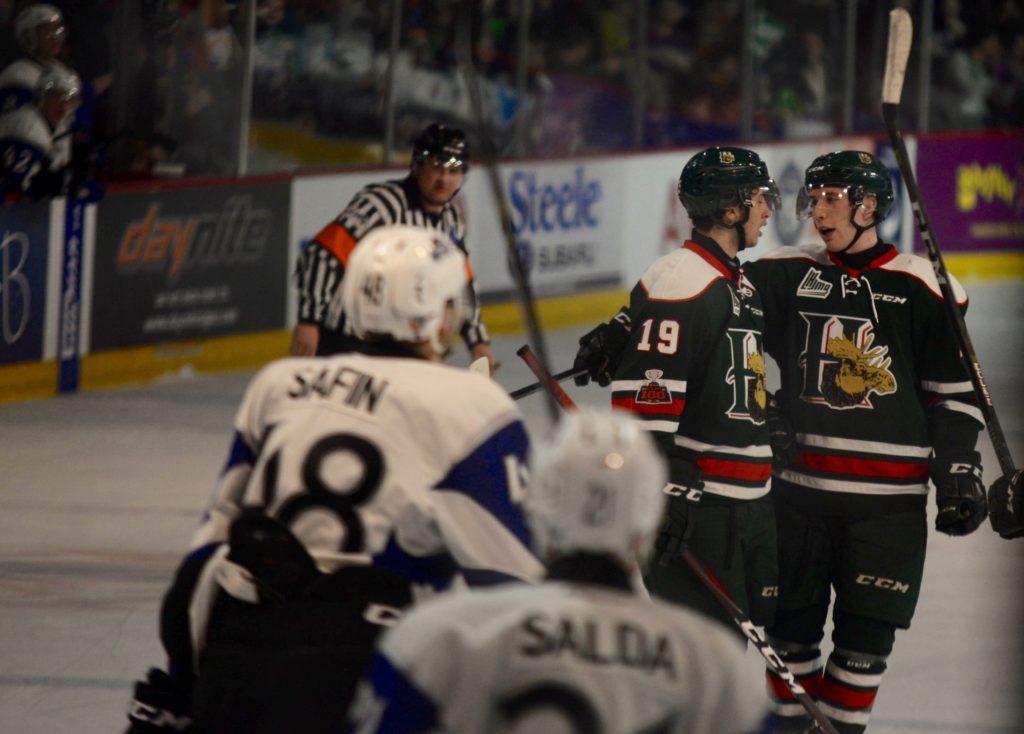 Quebec Major Junior Hockey League result (from Halifax Wednesday)