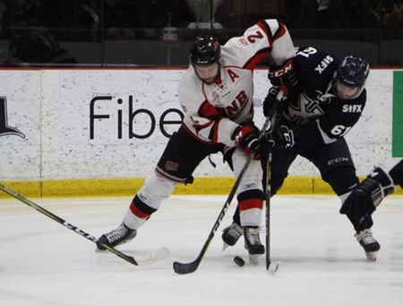AUS hockey playoff results (from Fredericton Monday)
