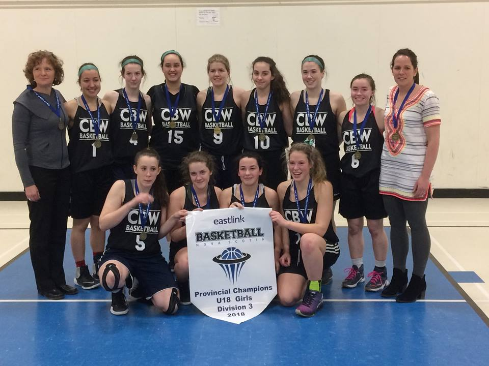 U18 basketball provincial results (from Halifax Sunday)