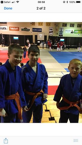 Port Hawkesbury Judo Club member wins gold in New Brunswick