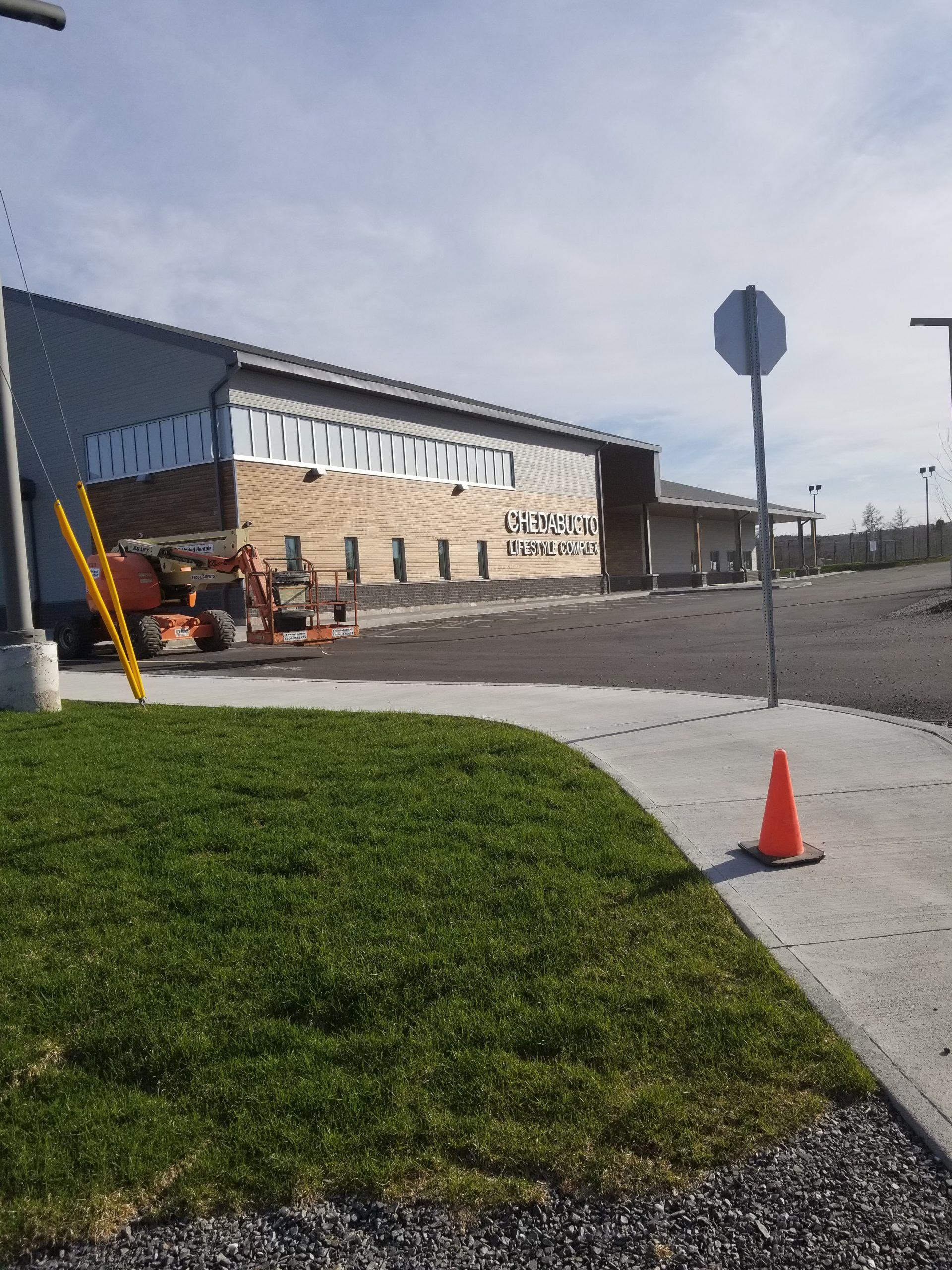 CLC construction wrapping up