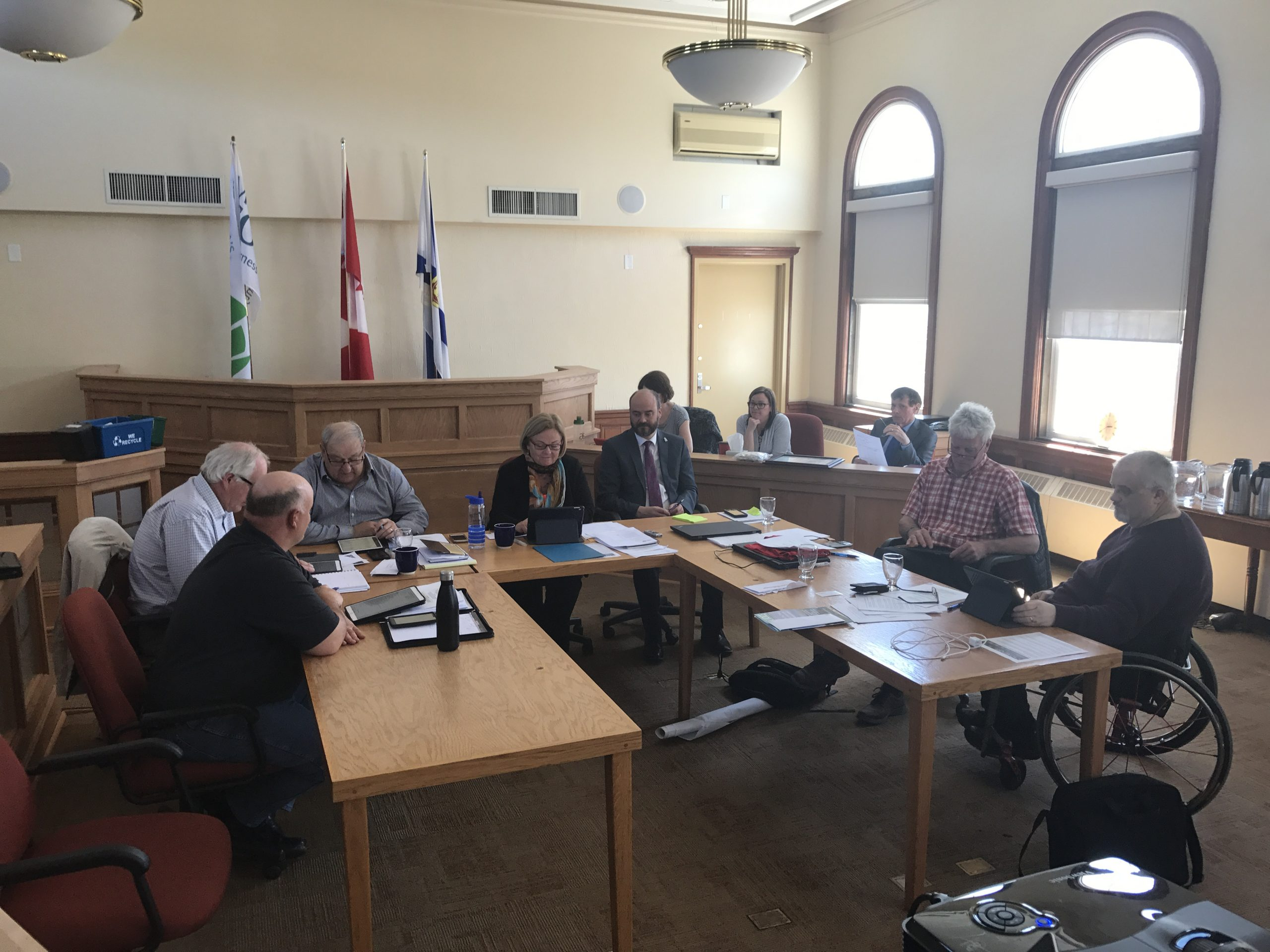 Warden says accessibility committee work well underway