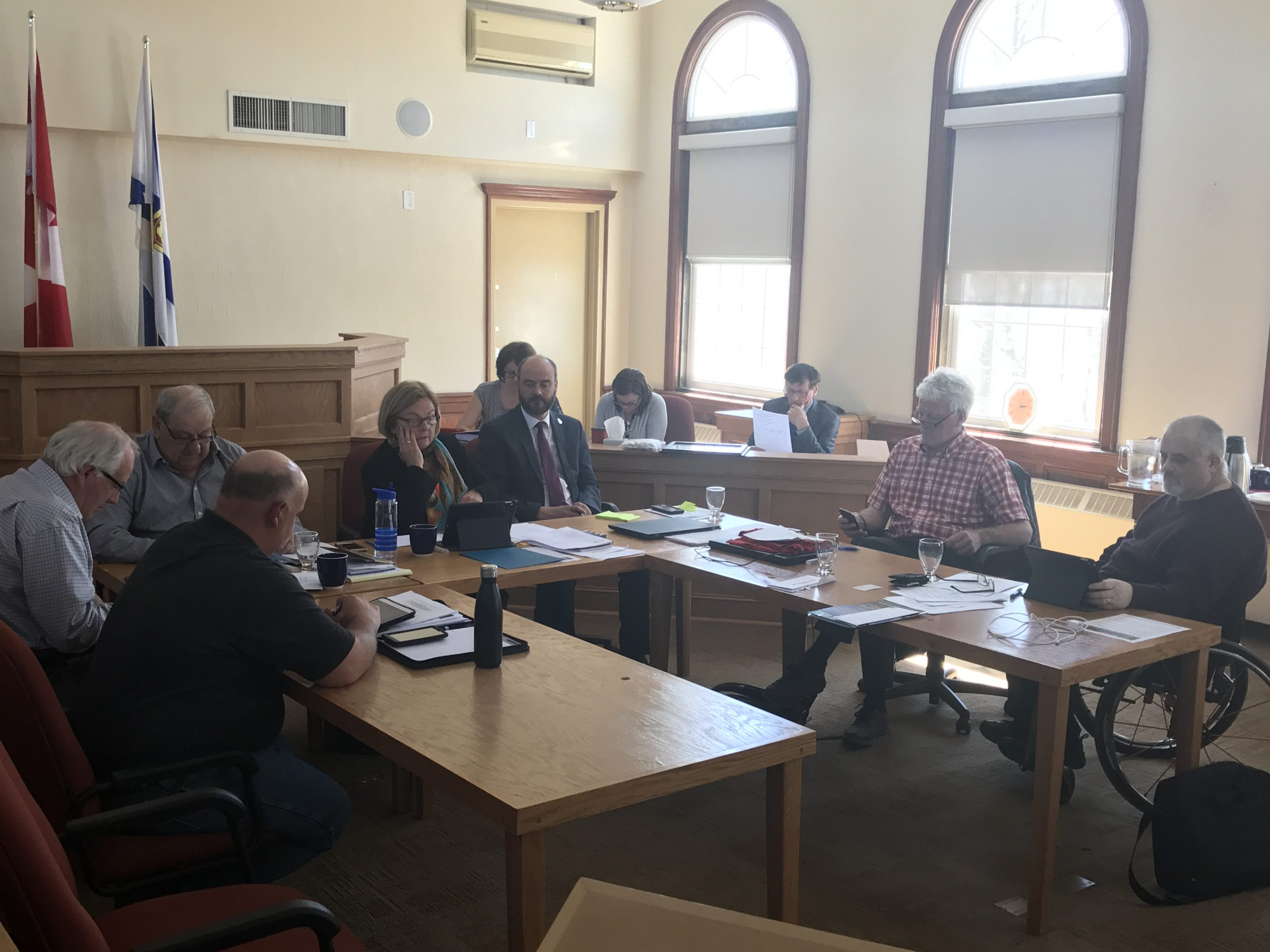 Warden says municipal officials hope to have budget finalized by end of May