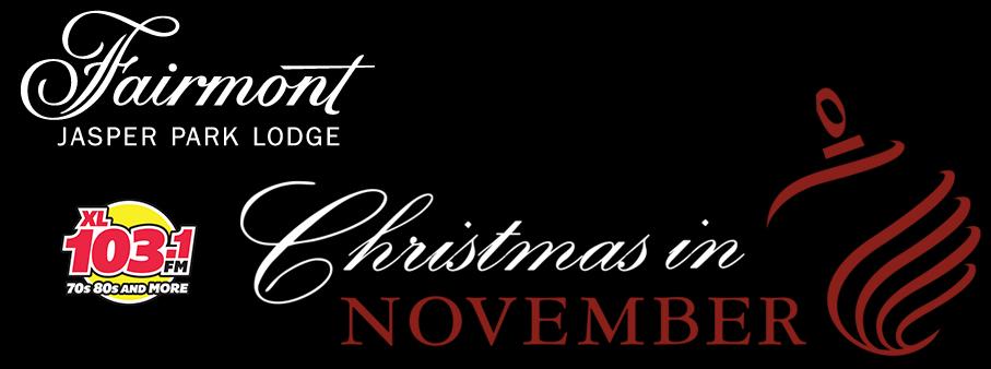 Jasper Park Lodge – Christmas In November