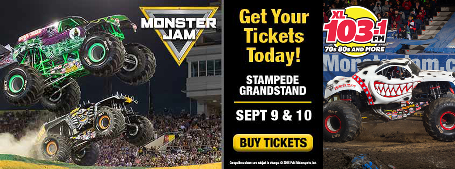 Win your way to Monster Jam ®