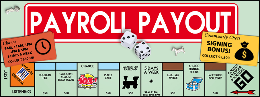 XL 103 Payroll Payout – Names That Have Been Called