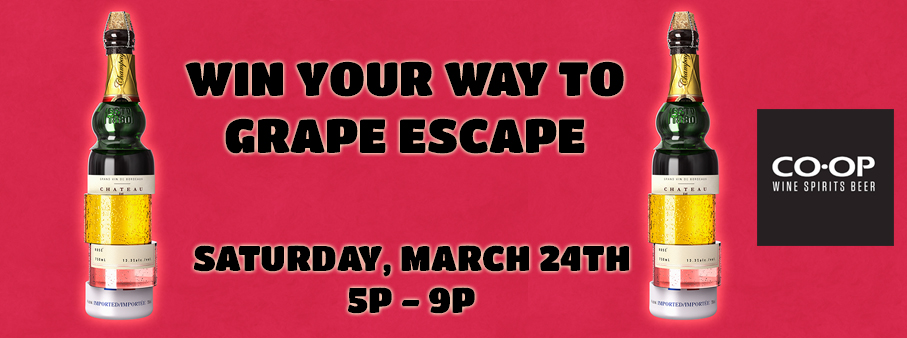 Win your way to Grape Escape