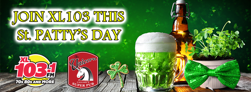 Join XL 103 this St. Patrick's Day