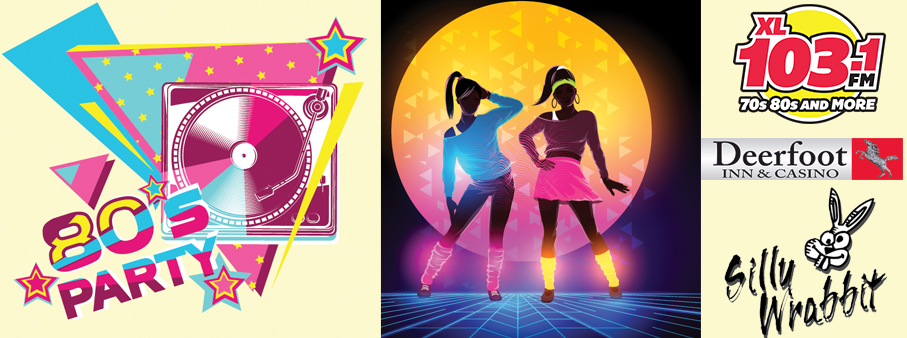 Win Your Way to the 80's Dance Party