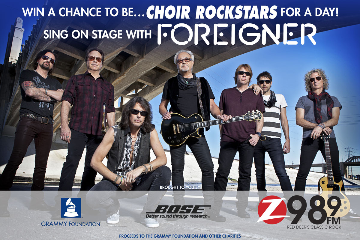 Rock With Foreigner - VOTING PAGE
