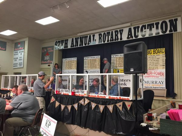 Rotary Auction begins Monday
