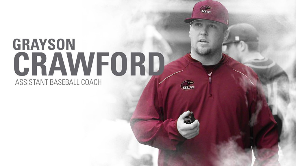 Crawford Named ULM Pitching Coach & Recruiting Coordinator
