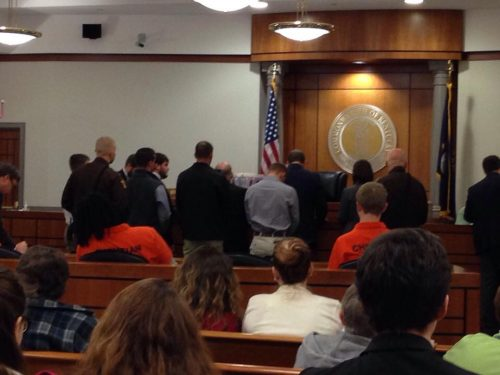 Trial date set for Crofton arson suspects