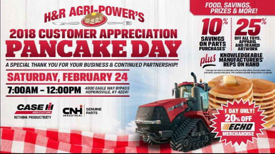 H&R Agri-Power Pancake Breakfast