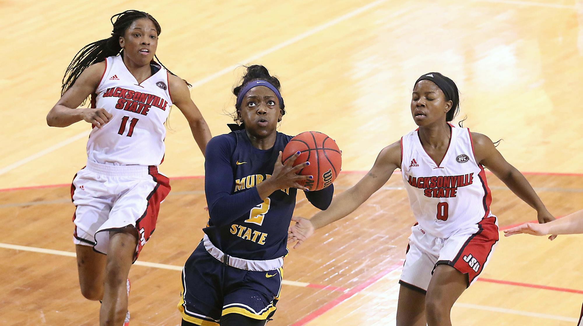 Murray State's James wins weekly OVC women's basketball award