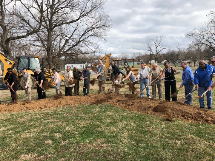 Ground broken for Second Street Park
