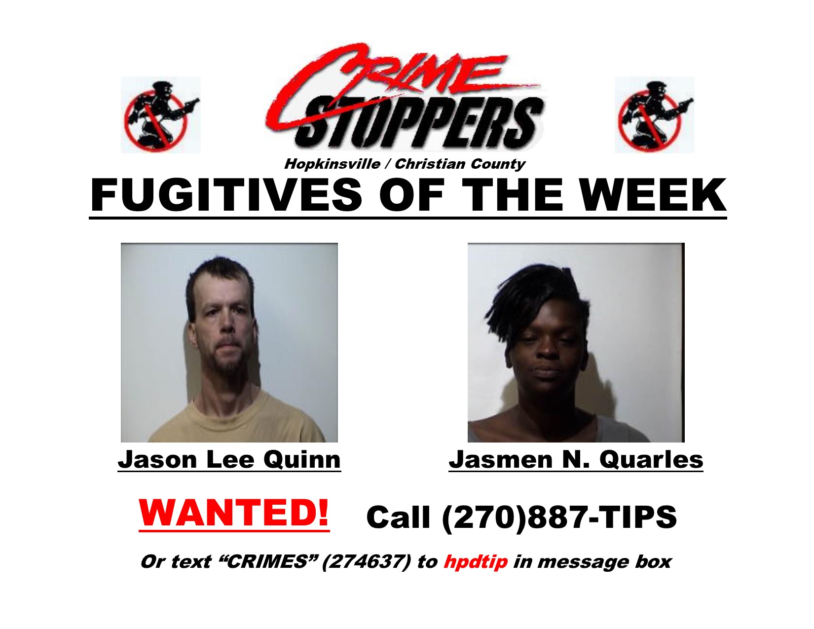 Crime Stoppers report 02/21