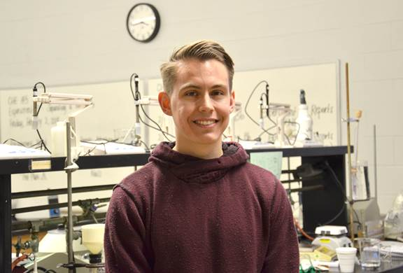 HCC student selected for NASA on-site event