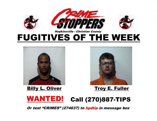 Crime Stoppers fugitives of the week