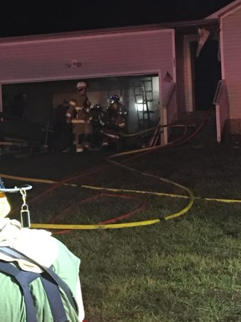 Oak Grove home damaged by fire