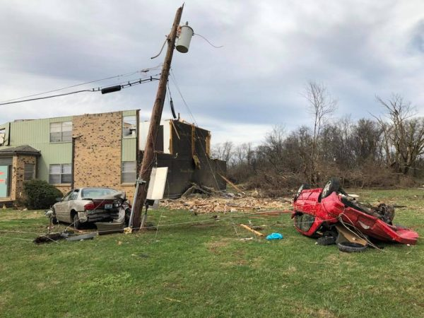 NWS: Tornadoes caused area damage