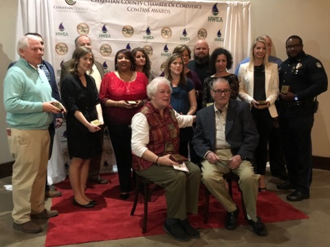 Service recognized at Compass Awards