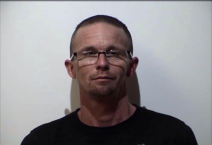 Man served with felony theft warrant