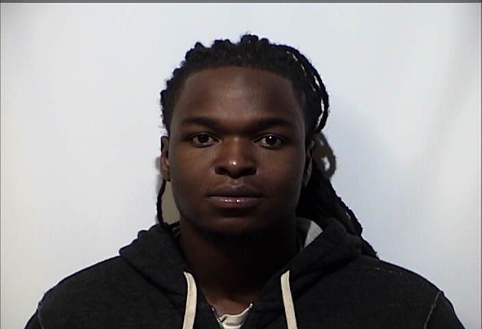 Man arrested after foot pursuit