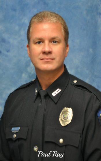 Officer Paul Ray retiring Thursday