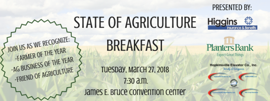 State of Agriculture Breakfast