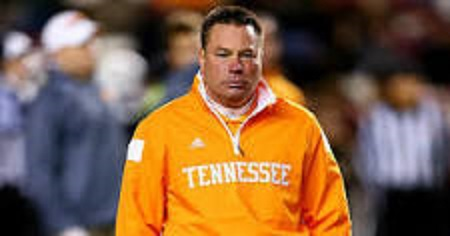 Former UT football coach Jones spotted at Alabama