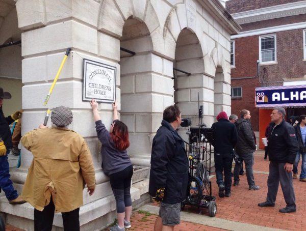 Movie filming begins downtown