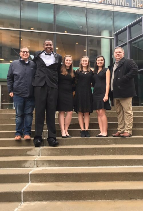 Four HHS students chosen for All State Band