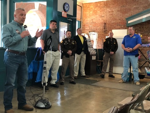 Sheriff candidates speak in Lafayette