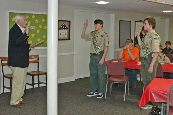 Local twins become Eagle Scouts