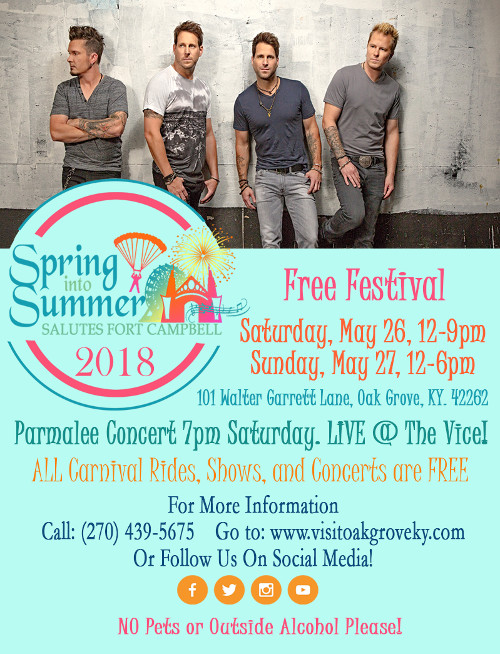 Spring into Summer Salutes Fort Campbell 2018