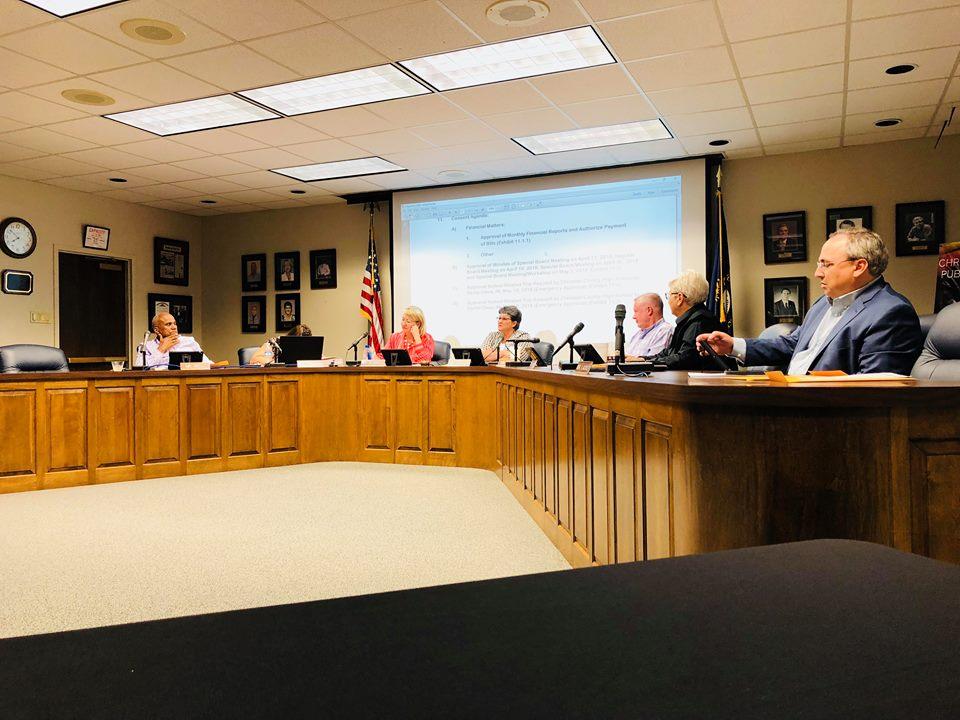 School board approves tentative budget, superintendent evaluation