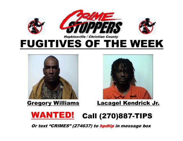 Crime Stoppers Fugitives of the Week 05/09